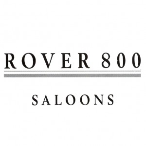 ROVER 800 SALOONS-text