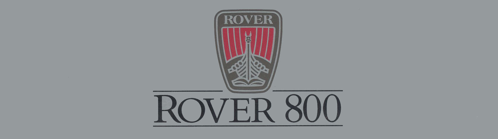 The Rover 800 Series